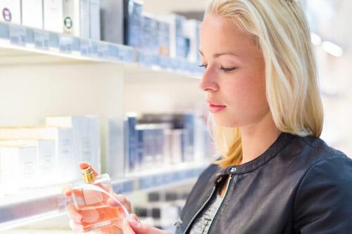 buy perfume use blotters
