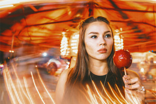 teen perfume apple scent