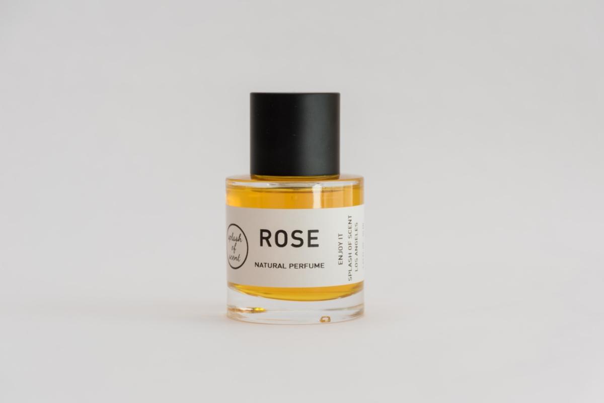 rose perfume natural