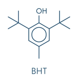 BHA and BHT in perfume